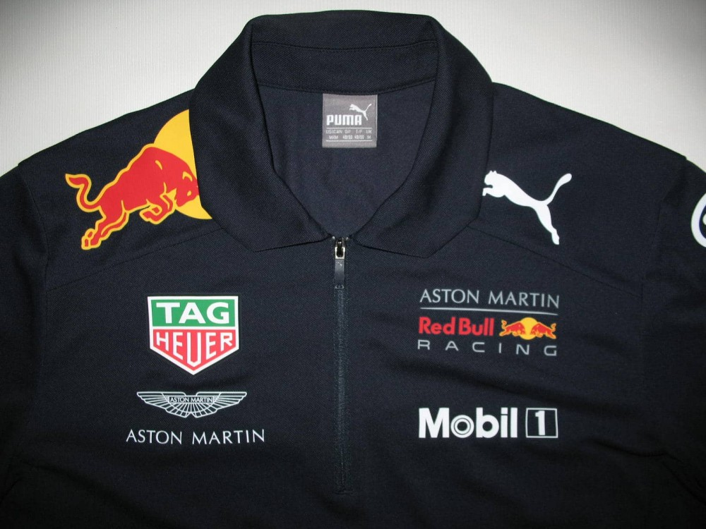 Поло PUMA aston martin red bull racing 18 polo jersey (размер M) - 4
