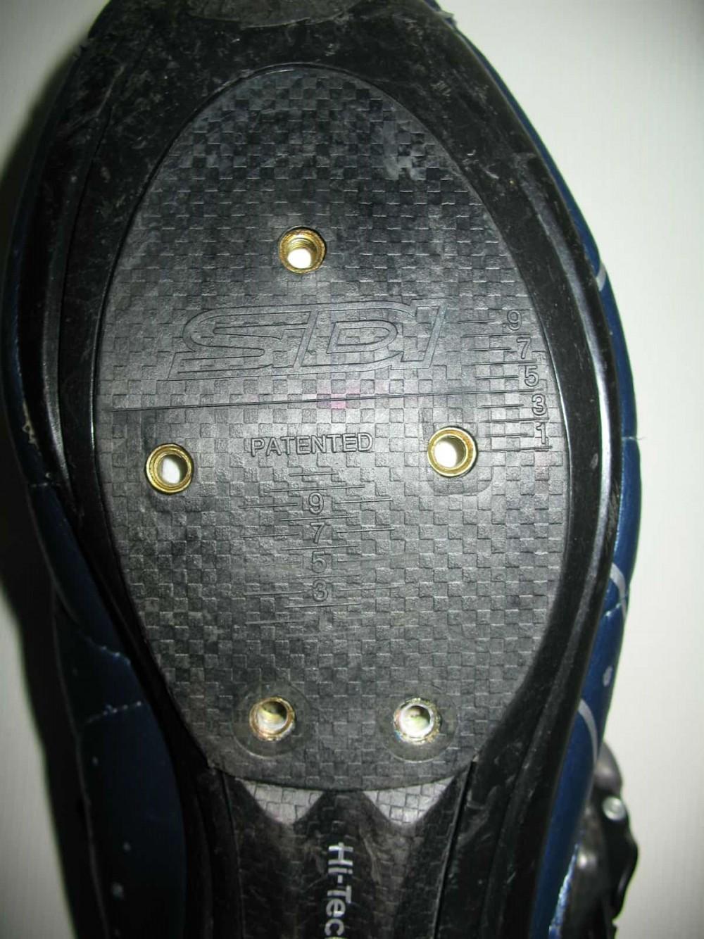 Велотуфли SIDI genius 5.5 carbon road shoes (размер EU42,5(на стопу 265mm)) - 7