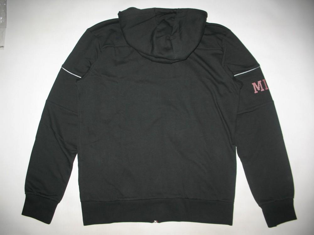 Кофта MIZUNO heritage zip hoody (размер L) - 2