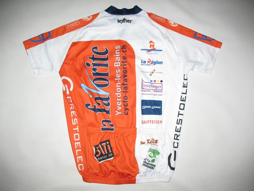 Веломайка TEXNER la favorite orange cycling jersey (размер M) - 1