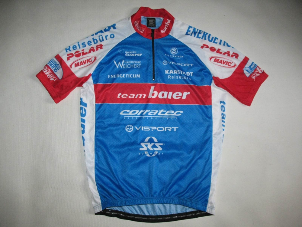 Веломайка SPORTFUL team baier cycling jersey (размер XL/L) - 6