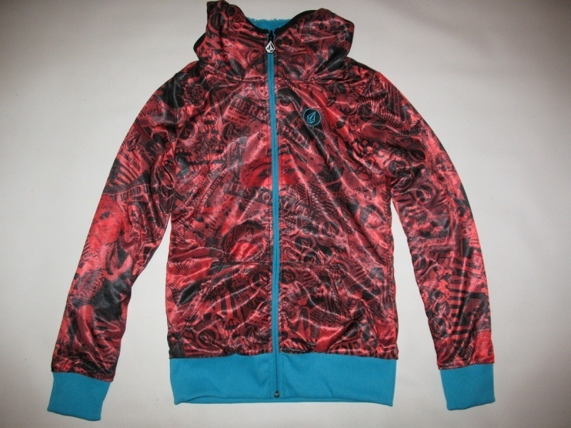Кофта VOLCOM  Rio Fur Reversible Fleece Jacket lady  (размер XS/S) - 8