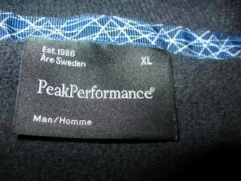 Кофта PEAK PERFOMANCE tebulos fleece hoody (размер XL) - 5