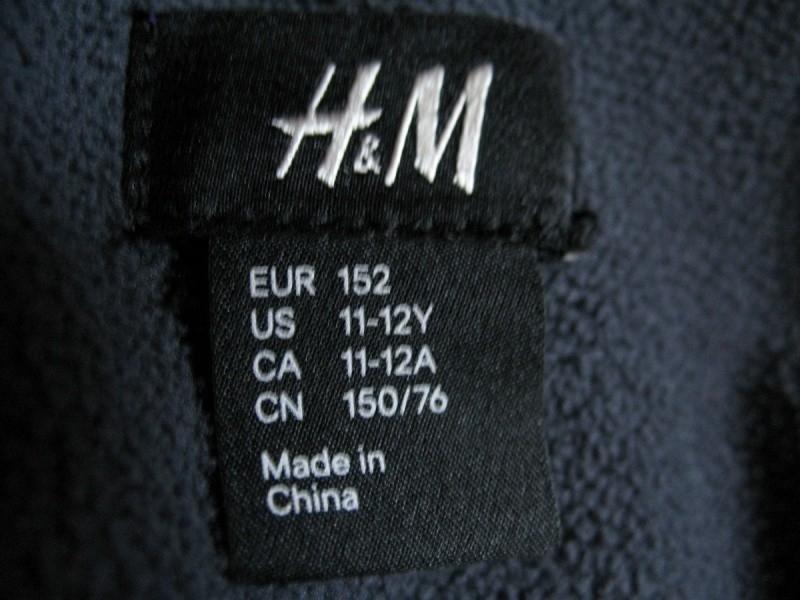 Куртка H&M softshell lady/kids  (размер рост152см) - 4