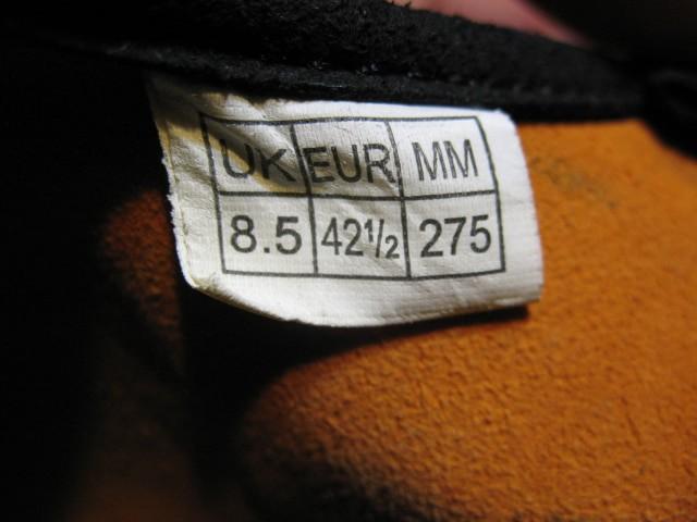 Скальные туфли ELLIOT st voyager velcro climbing unisex shoes (размер UK8,5/EU42,5(275   mm)) - 7