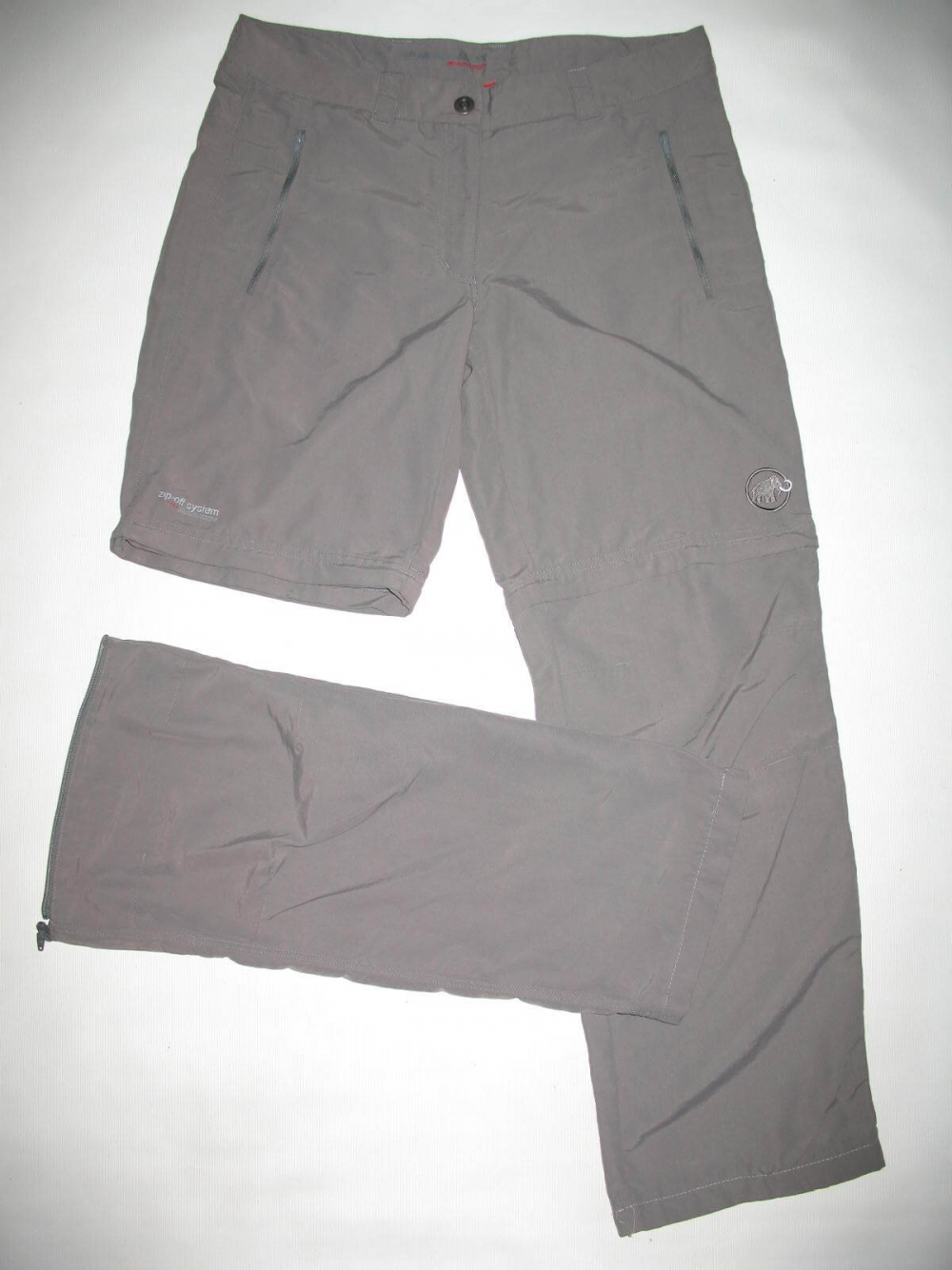 Штаны MAMMUT Zip Off pants lady (размер 40-L/M) - 2