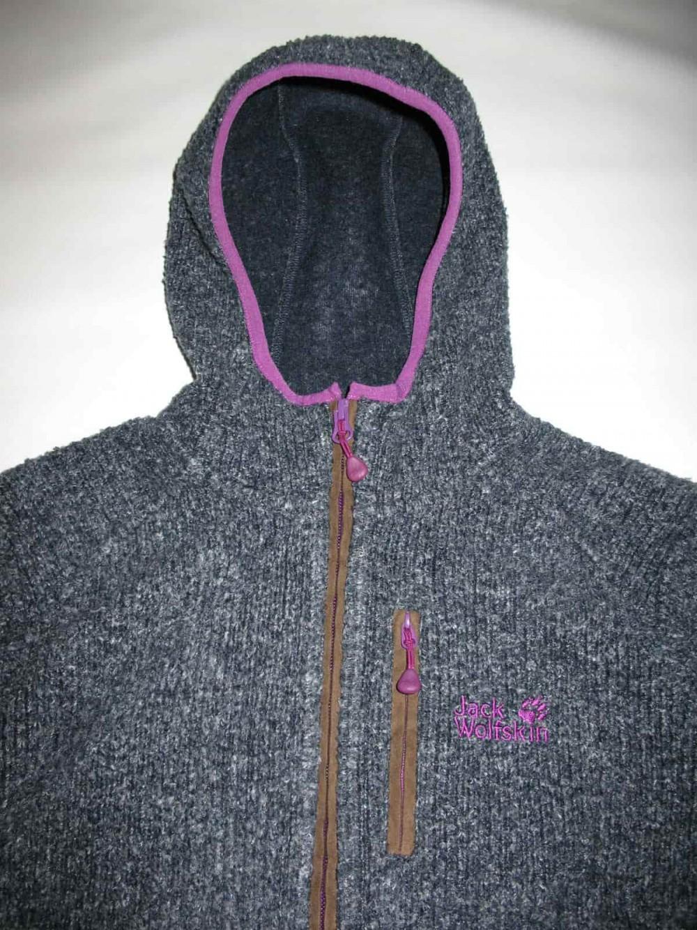 Кофта JACK WOLFSKIN milton fleece hoodie lady (размер 40-M/L) - 5