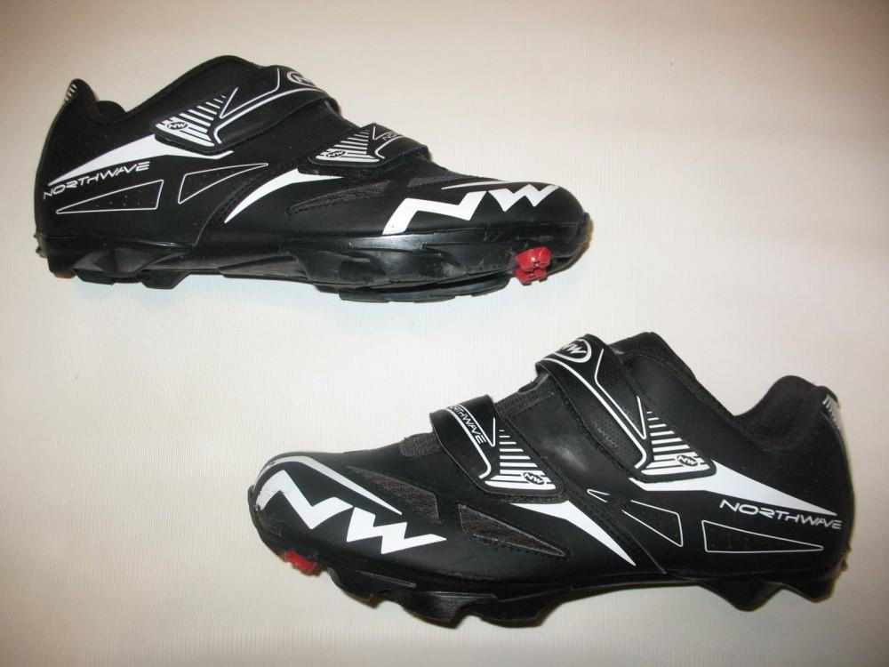 Велотуфли NORTHWAVE spike evo MTB shoes (размер US12/UK11/EU45(на стопу 293 mm)) - 6