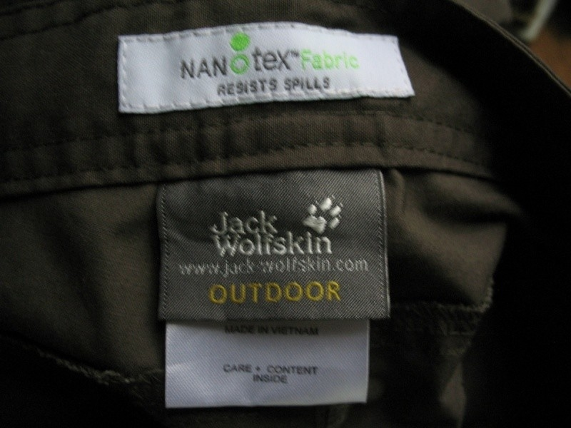 Штаны JACK WOLFSKIN Northpants Nano-Tex (размер 54-XL) - 13
