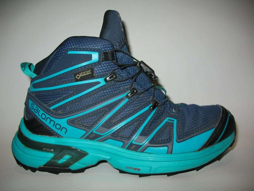 Ботинки SALOMON X chase GTX mid (размер UK5/US6,5/EU38,5(на стопу  235 mm)) - 5