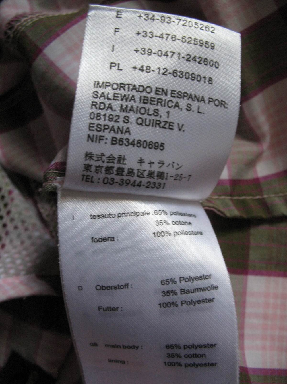 Рубашка SALEWA Hannah Dry shirt lady (размер L) - 10