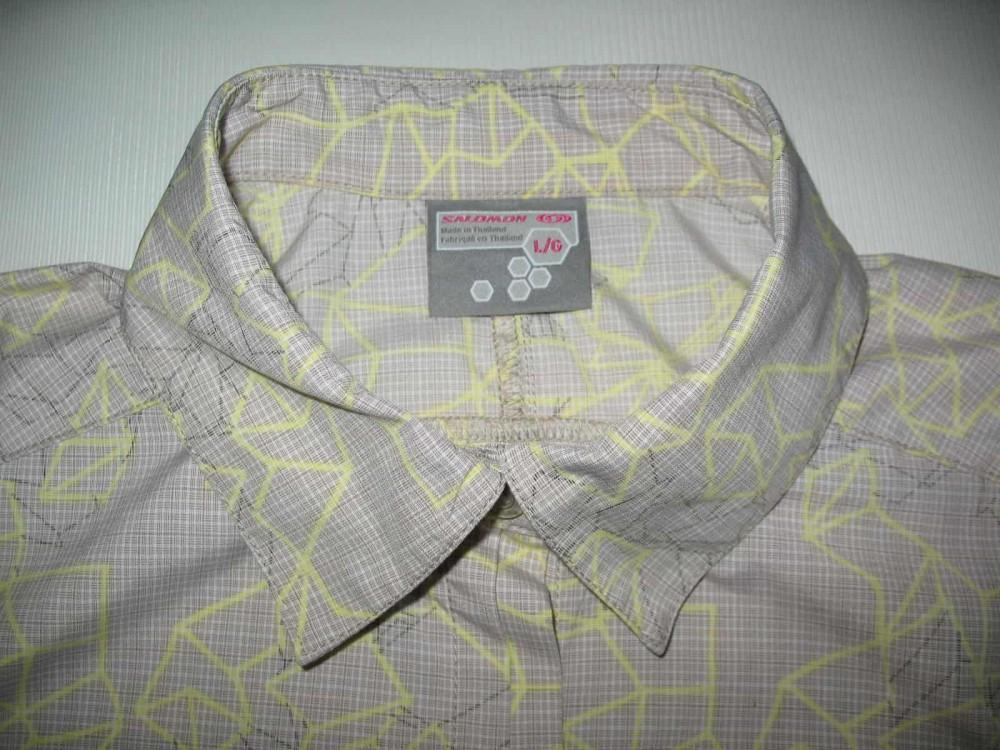 Рубашка SALOMON trekking shirts lady (размер L) - 2