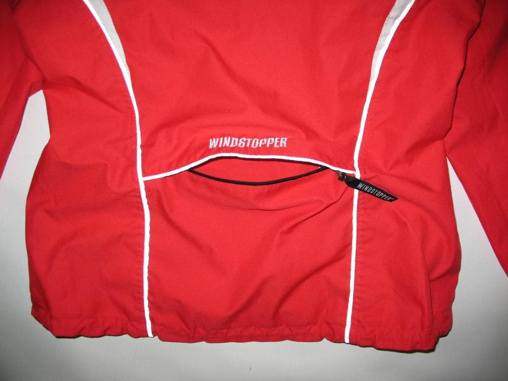 Куртка GORE bike wear 2in1 windstopper red jacket lady (размер 38/M) - 5