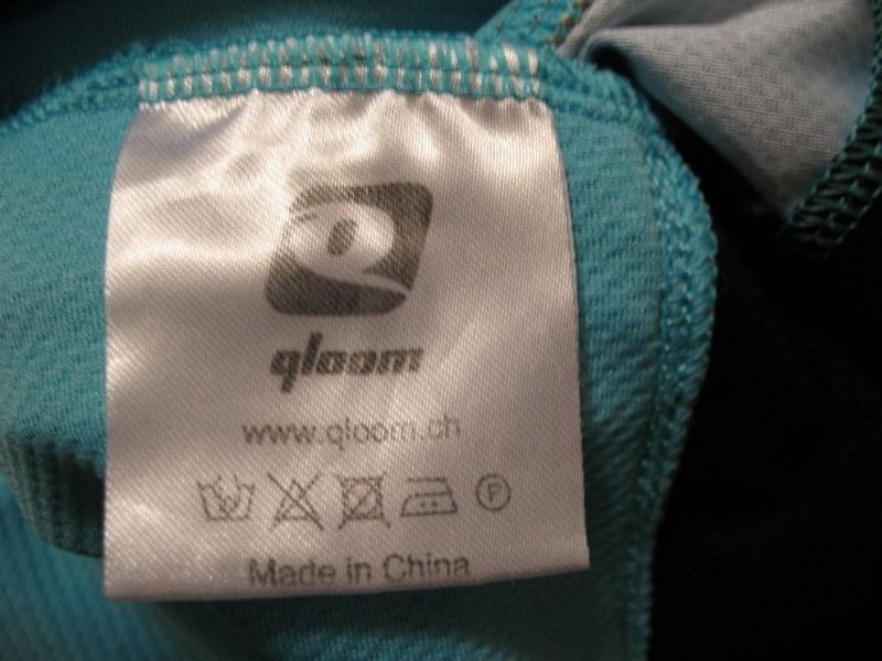 Футболка QLOOM bike jersey 1 lady  (размер S) - 3
