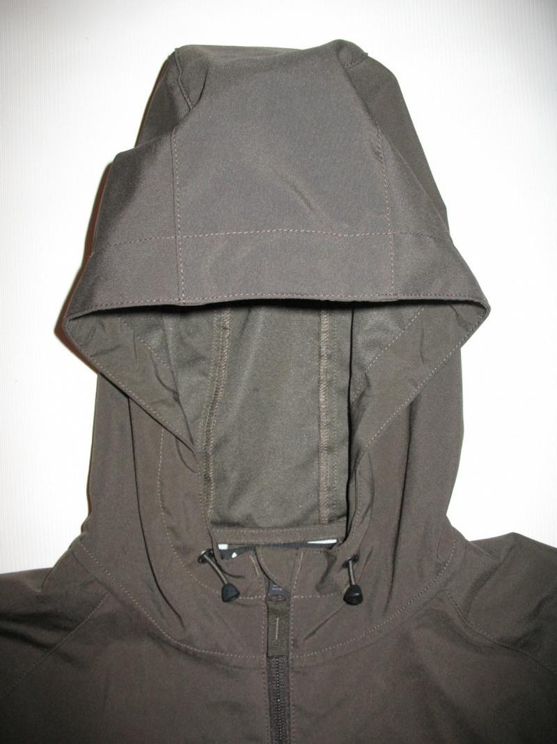 Куртка VAUDE   Hurricane II hood softshell jacket  (размер S/M) - 2