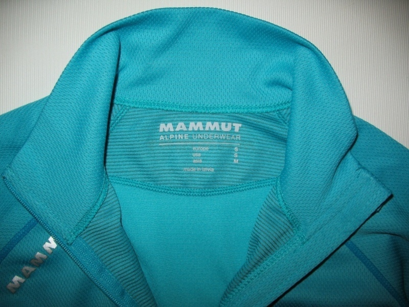 Футболка  MAMMUT Zip Longsleeve all-year lady (размер S) - 4