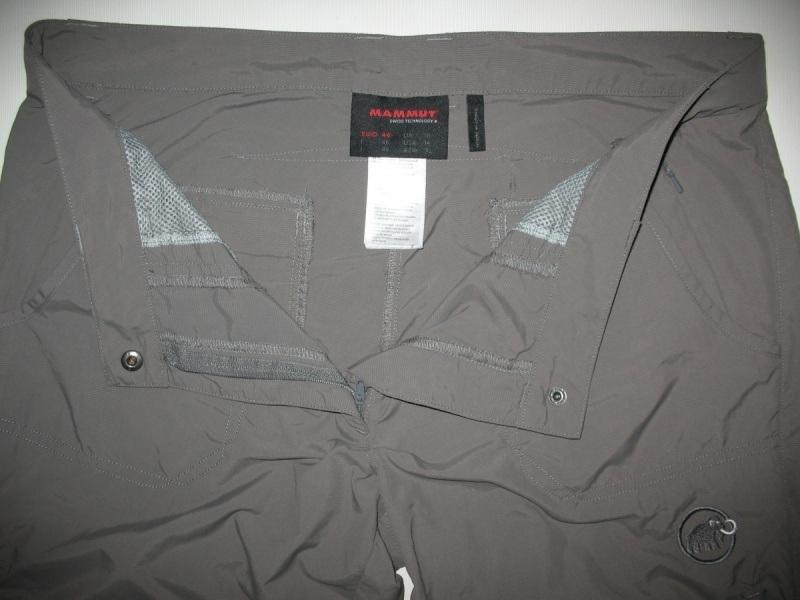 Штаны MAMMUT hose lang hiking pants lady (размер L/XL) - 5