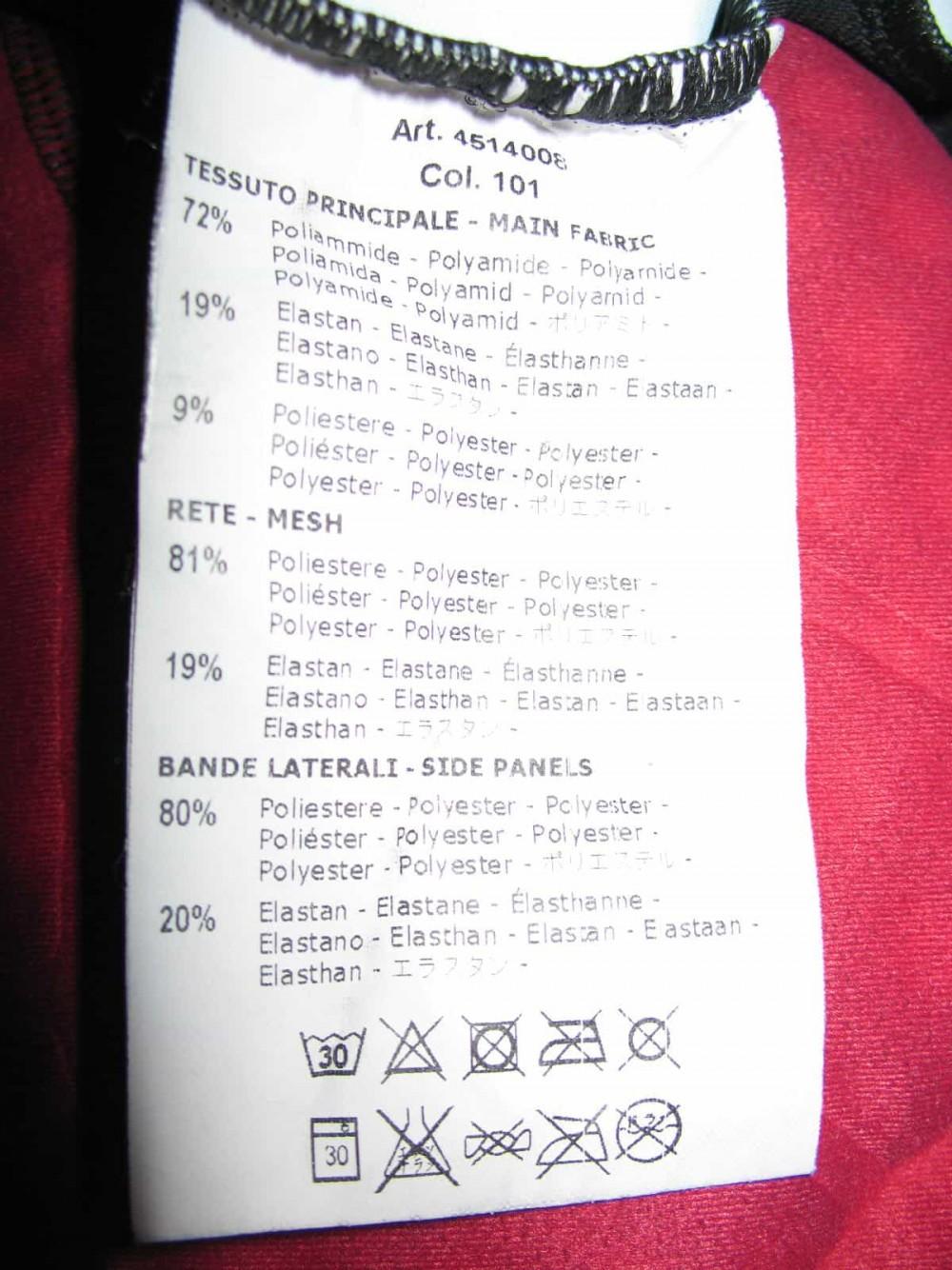 Велошорты CASTELLI kiss cycling bib shorts lady (размер XXL(реально L/M)) - 9