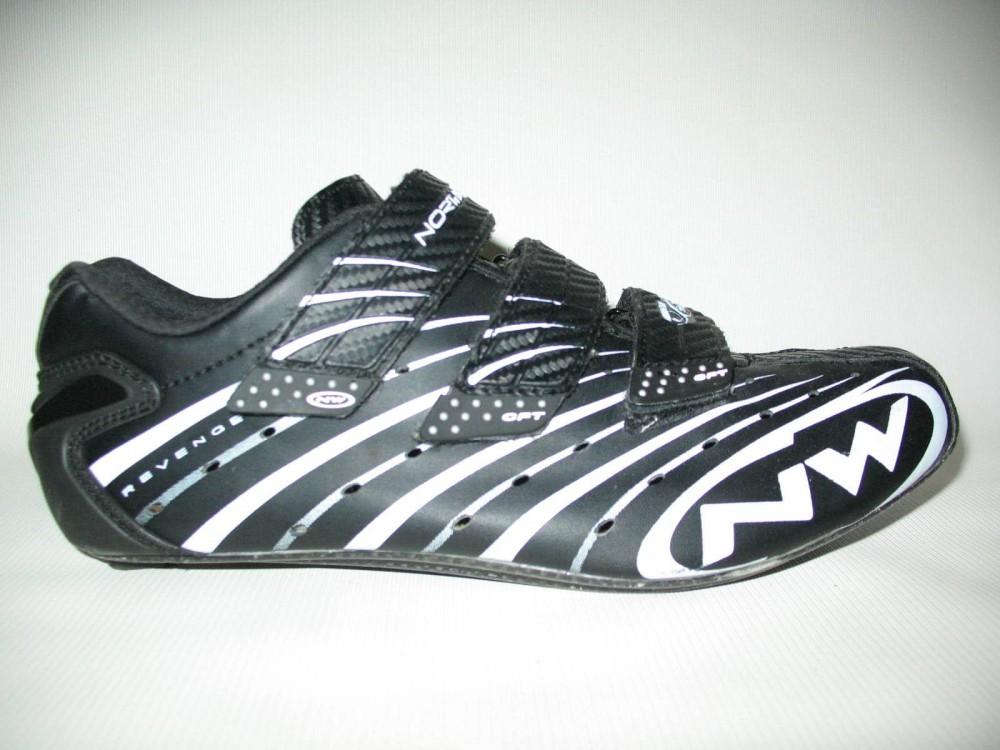 Велотуфли NORTHWAVE revenge road shoes (размер US9,5/UK8,5/EU42(на стопу до 270 mm)) - 1