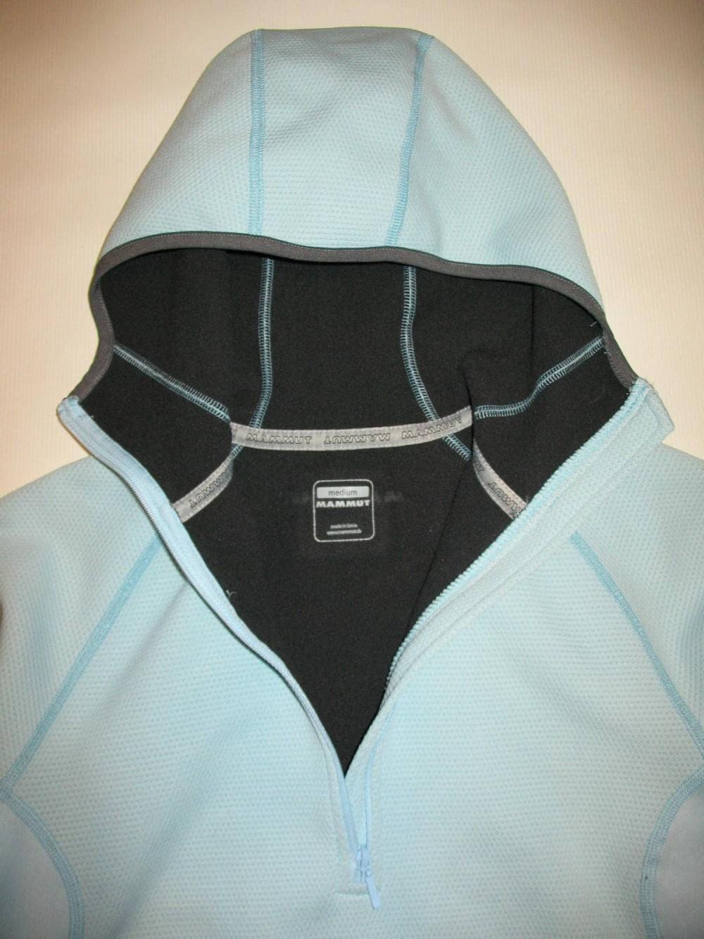 Кофта MAMMUT fleece hoodie lady (размер M) - 3