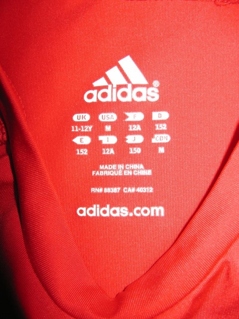 Футболка ADIDAS climalite compression jersey kids (размер на рост +-155 см) - 3