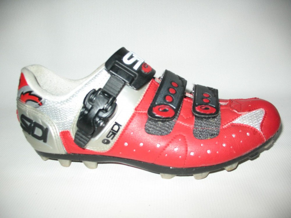 Велотуфли SIDI mtb red shoes (размер EU42(на стопу до 260 mm)) - 1