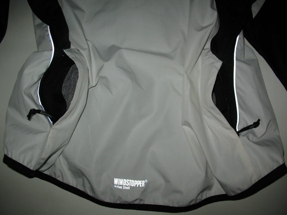 Велокуртка GORE BIKE WEAR 2in1 windstopper jacket lady (размер 40/XL) - 7
