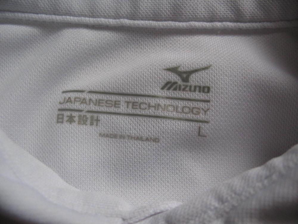 Футболка MIZUNO  Drylite Ice Touch Pique Golf Shirt (размер L) - 5