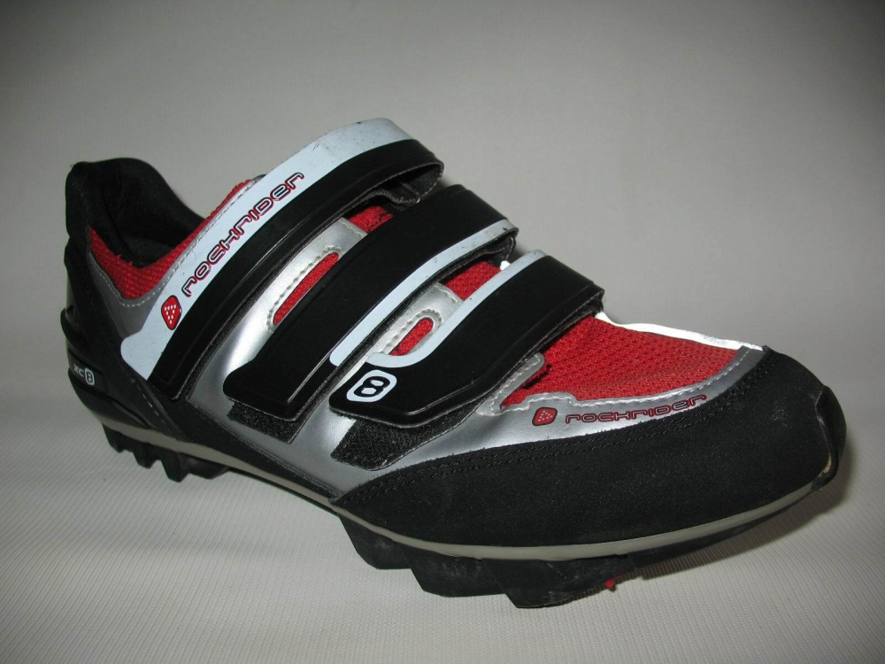 Велотуфли ROCKRIDER xc8 mtb shoes (размер UK9,5/US10/EU44(на стопу 280mm)) - 1