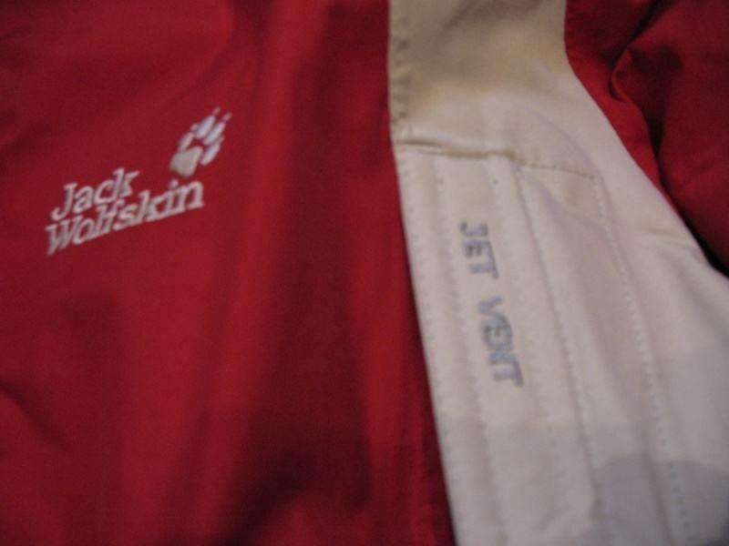 Куртка JACK WOLFSKIN TEXAPORE lady  (размер S/М) - 7