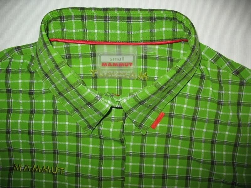 Рубашка MAMMUT shirts green lady  (размер S/M) - 2