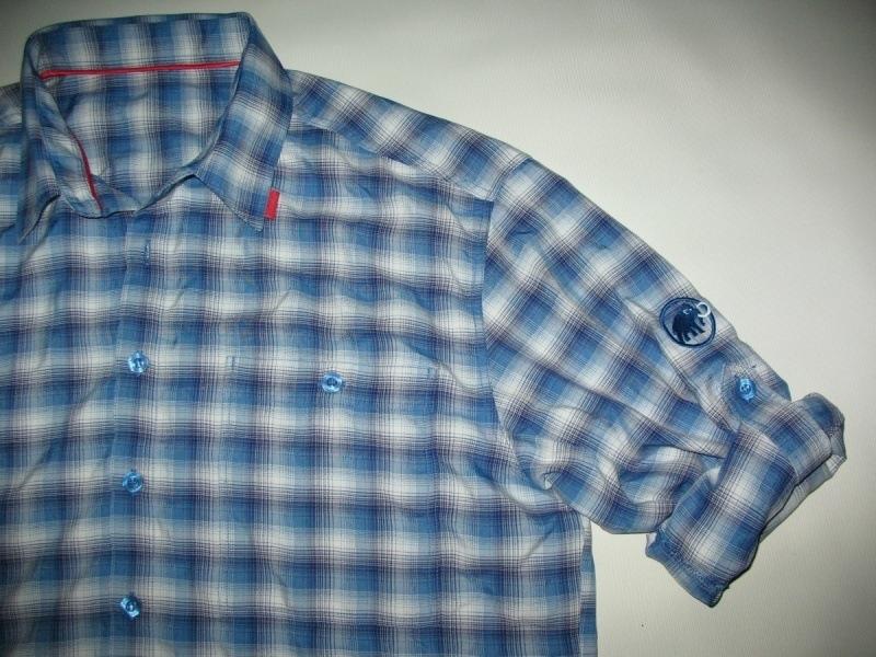 Рубашка  MAMMUT belluno longsleeve 2in1 (размер L) - 5