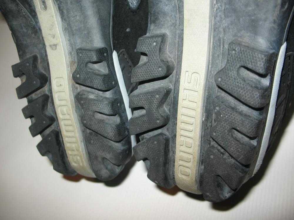 Велотуфли SHIMANO sh-mt 40 MTB shoes (размер US10/EU44(на стопу 278 mm)) - 8