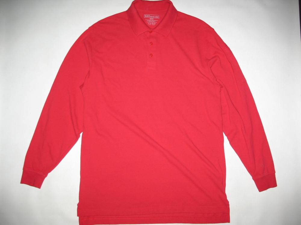 Свитер 5.11 tactical professional long sleeve polo jersey (размер М) - 3