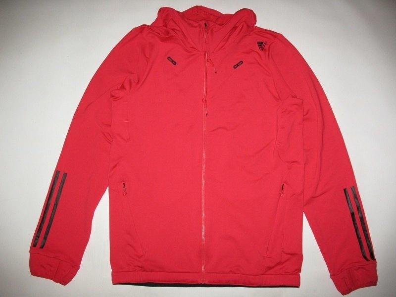 Кофта ADIDAS core performance climalite full zip hoodie  (размер S/M) - 1