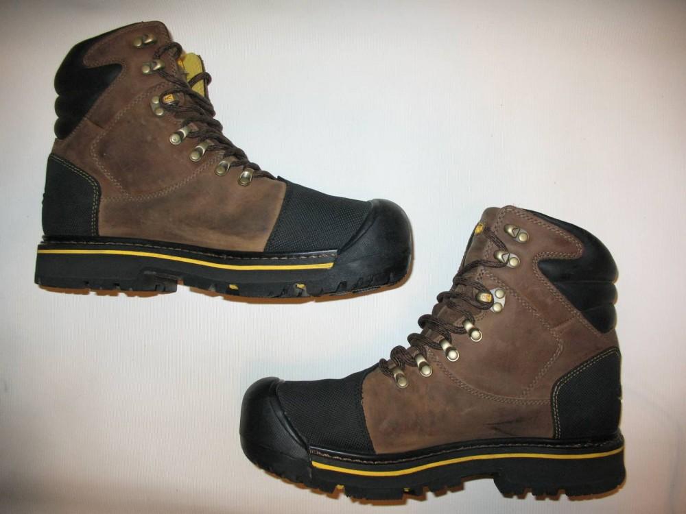 Ботинки KEEN milwaukee waterproof boots (размер US8/UK7/EU41(на стопу 260 mm)) - 6