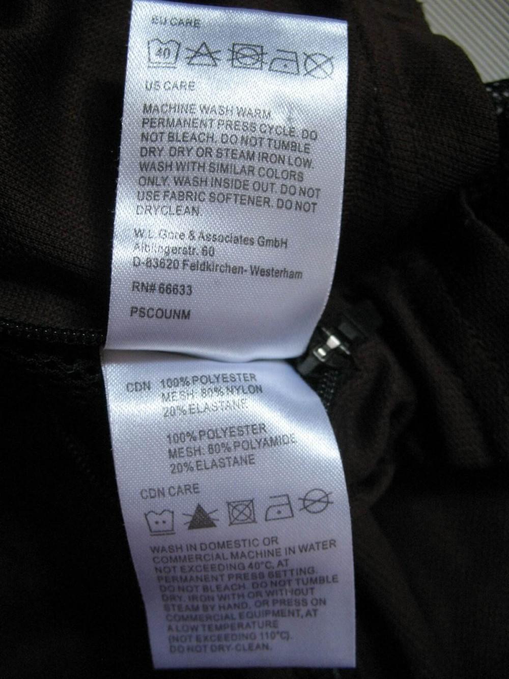Веломайка GORE bike wear light jersey (размер М) - 5