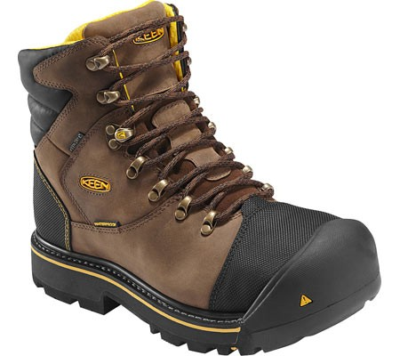 Ботинки KEEN milwaukee waterproof boots (размер US8/UK7/EU41(на стопу 260 mm)) - 1