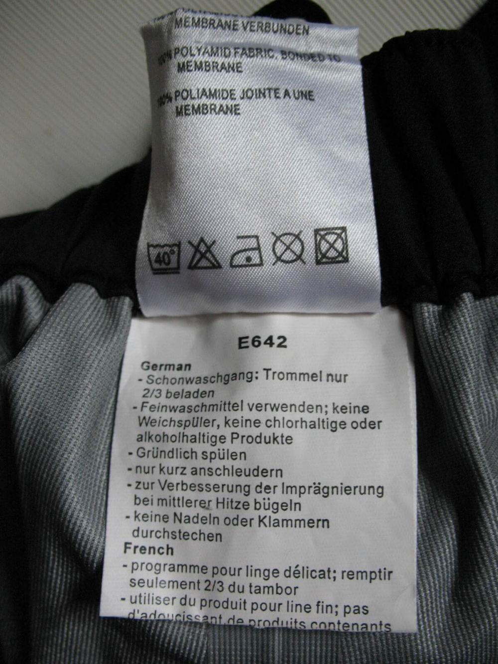 Штаны MAMMUT  waterproof  DRYtech pants (размер S) - 11