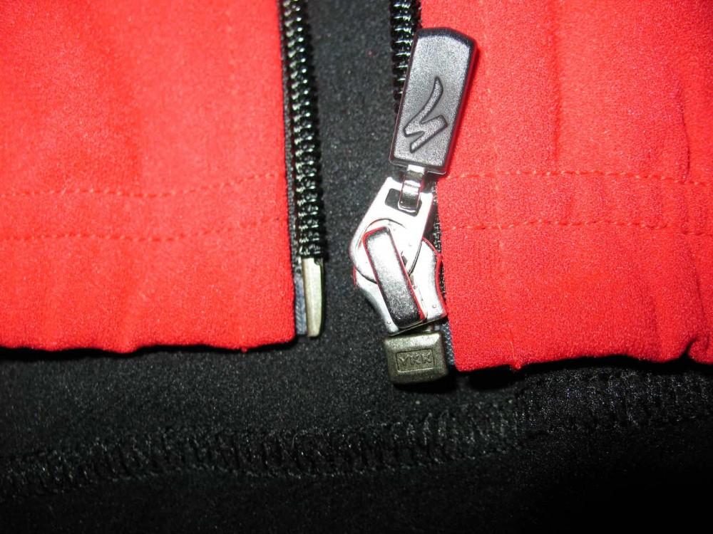Велокуртка SPECIALIZED 2in1 windstopper cycling jacket (размер L(реально M/S) - 7