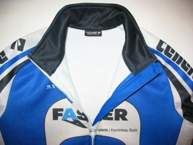 Велокуртка CUORE fasler windtex jacket (размер XS/S) - 2