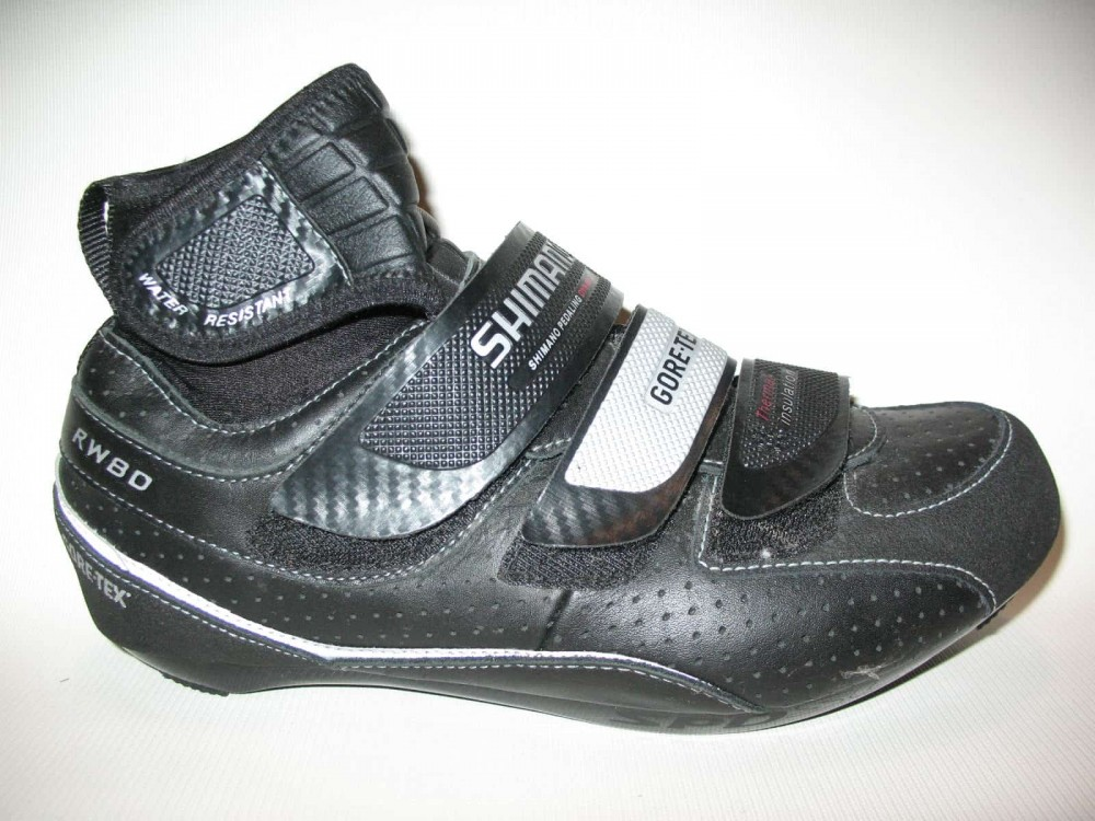 Велотуфли SHIMANO rw80 GTX shoes (размер US7,5;EU41(на стопу до 258 mm)) - 2