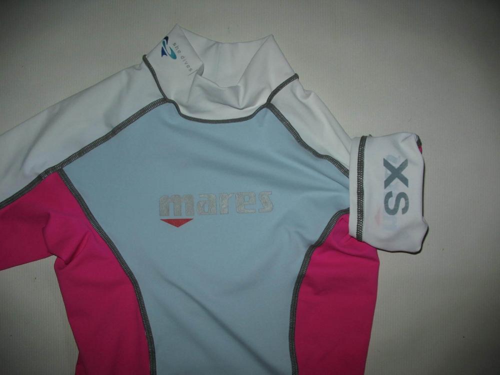 Футболка MARES She Dives Trilastic Short Sleeve Rash Guard lady (размер XS) - 2