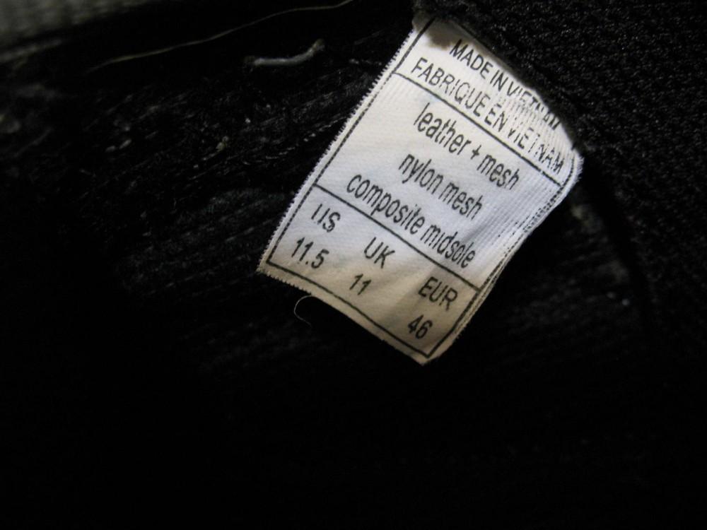 Велотуфли SCOTT mtb shoes (размер US11,5/UK1/EU46(на стопу до 295 mm)) - 9