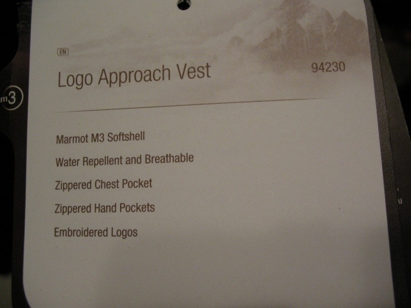 Жилет MARMOT approach vest  (размер XXL) - 10