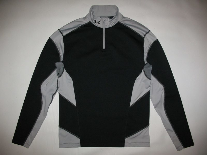 UNDER ARMOUR CG Fitted Hybrid Wind-block 1/4 Zip  (размер XL) - 2
