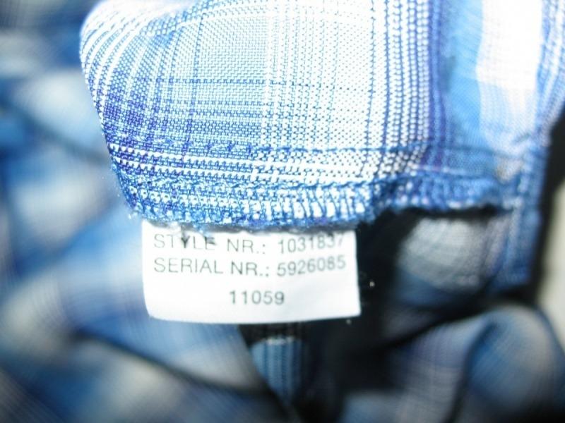 Рубашка  MAMMUT belluno longsleeve 2in1 (размер L) - 6