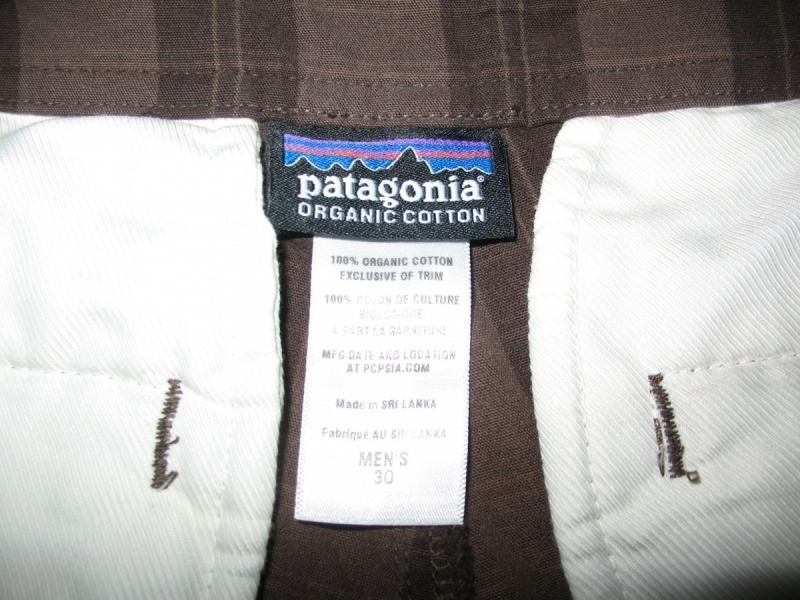 Шорты PATAGONIA cargo shorts (размер 30-S/M) - 8
