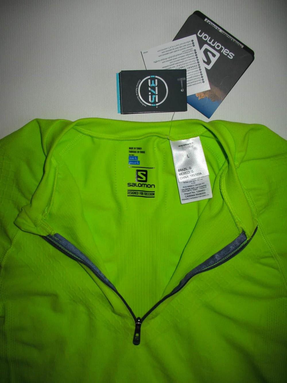 Футболка SALOMON exo motion ss jersey (размер L) - 7
