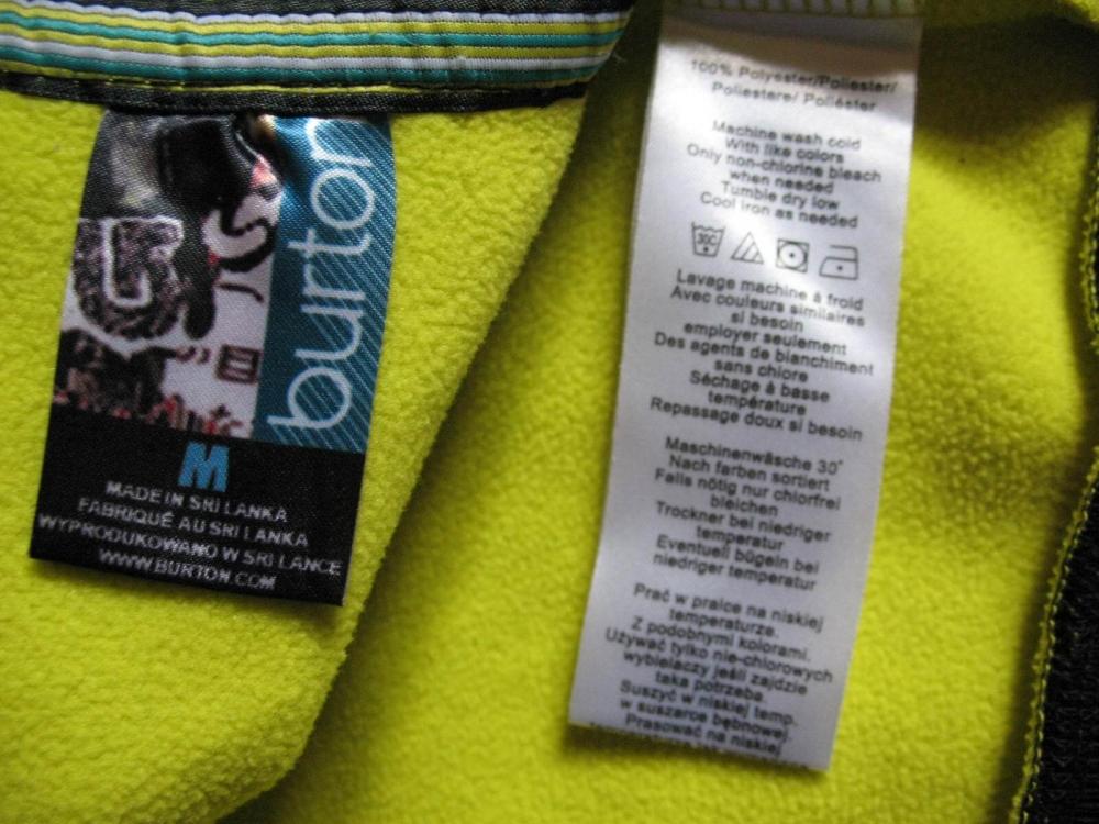 Кофта BURTON zebra fleece hoodie lady (размер M) - 6